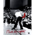 Bob Knight Signed Throwing Chair B&W w/ Red Chair 8x10 Photo - Black