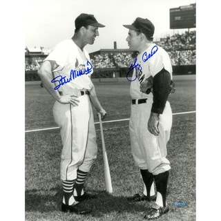 Yogi Berra & Stan Musial Signed 11x14 Photo
