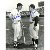 Yogi Berra & Stan Musial Signed 11x14 Photo