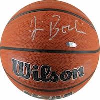 Jim Boeheim Signed NCAA Basketball - Black