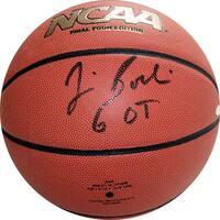 "Jim Boeheim NCAA Basketball w/ ""6 OT"" Insc"