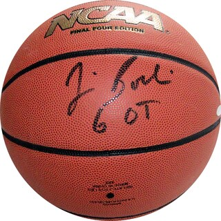"Jim Boeheim NCAA Basketball w/ ""6 OT"" Insc"