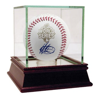 Yordano Ventura Signed 2015 World Series Baseball