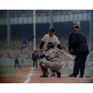 Yogi Berra WS Color 11x14  (Stepping Up To Plate) Horizontal Photo SSM Holo