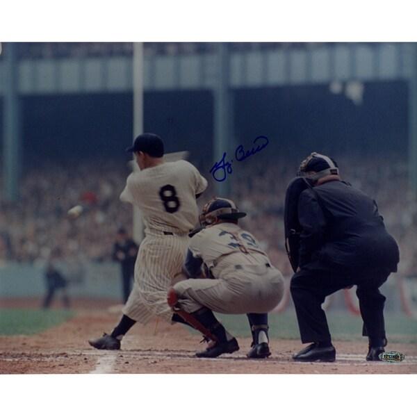 Yogi Berra WS (Swing) Color 11x14 Photo ( SSM Holo)