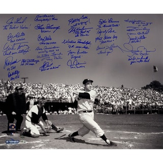 Yogi Berra Tribute Multi-Signed and Inscribed 20x24 Metallic Photo (25 Signatures) (LE/50)