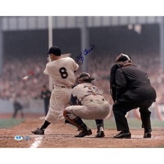 Yogi Berra Signed 16x20 Horizontal Color Photo LTD Auth