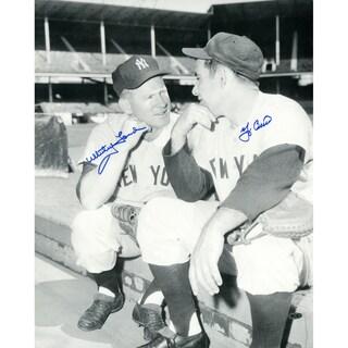 Yogi Berra & Whitey Ford Signed 16x20 Photo