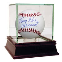 Tony Perez Signed MLB Baseball w/ HOF 2000 Inscription ( MLB Auth)