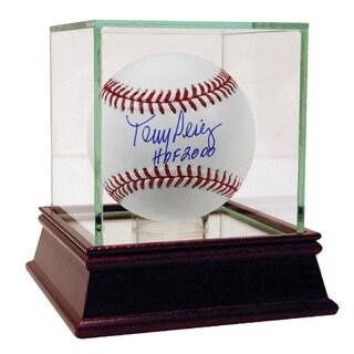 """Tony Perez Signed MLB Baseball w/ """"HOF"""" Insc."""