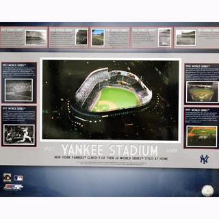 Yankee Stadium World Series Clincher Collage 16x20 Photo