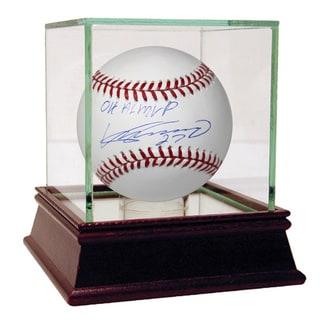 Vladimir Guerrero Signed MLB Baseball w/ 04 MVP Insc (MLB Auth)