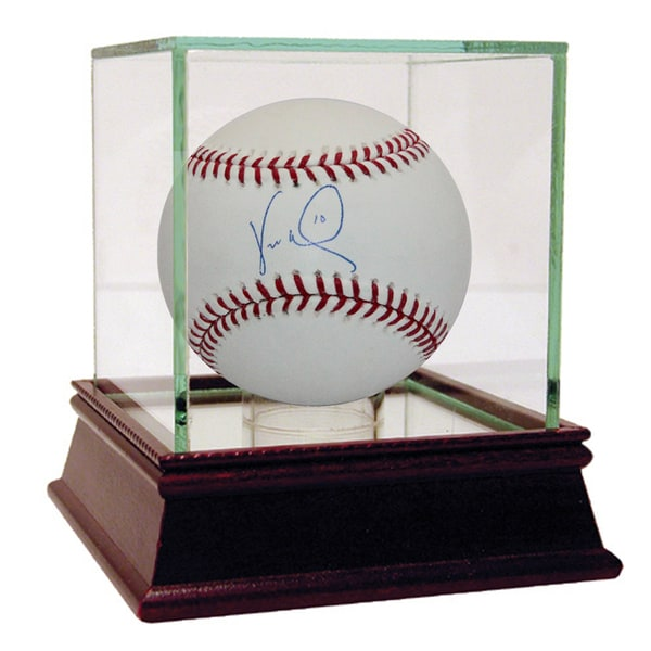Vernon Wells Signed MLB Baseball