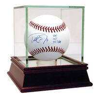"Trot Nixon Signed MLB Baseball w/ ""04 WS, .357BA""Insc."