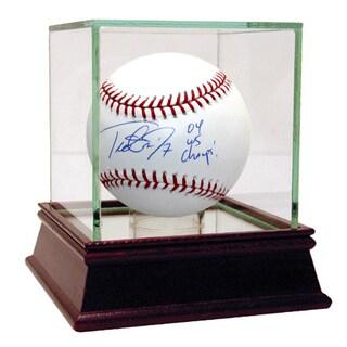 "Trot Nixon Signed MLB Baseball w/ ""04 WS Champs""Insc."