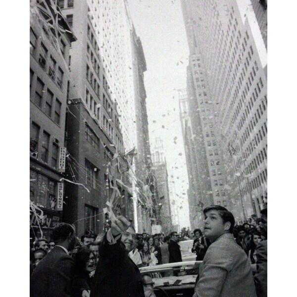 Tom Seaver 1969 Ticker Tape Parade 16x20