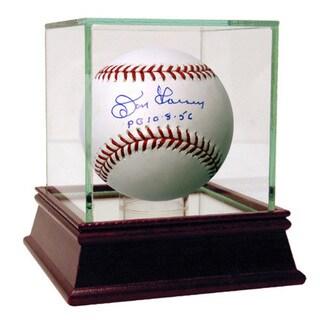 """Don Larsen Signed MLB Baseball w/ """"PG 10-8-56"""" Insc."""
