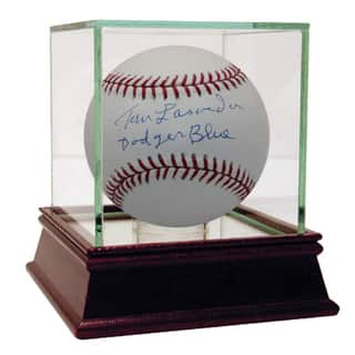 Tom Lasorda Signed MLB Baseball w/ Dodgers Blue insc|https://ak1.ostkcdn.com/images/products/11200474/P18190098.jpg?impolicy=medium