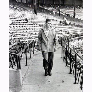 Ted Williams Walking Through Stadium Metallic 11x14 Photo|https://ak1.ostkcdn.com/images/products/11200487/P18190118.jpg?impolicy=medium