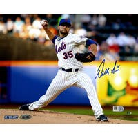 Dillon Gee New York Mets Signed Pitching  8x10 Photo ( MLB Auth)