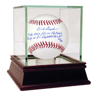 Dick Groch Signed Baseball w/Jeters Cooperstown Quote Insc (LE/92)