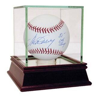 """Steve Garvey Signed MLB Baseball w/ """"81 WS Champs"""" insc"""