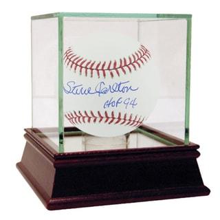 """Steve Carlton MLB Baseball w/ """"HOF 94"""" Insc."""