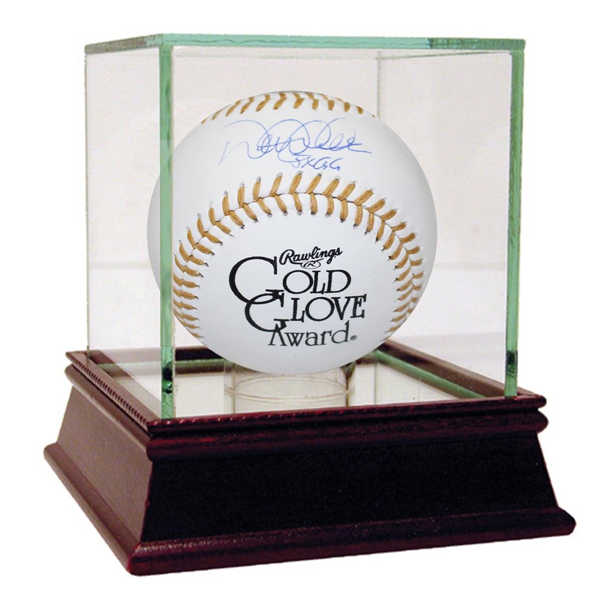 """Steiner Derek Jeter Signed Gold Glove Baseball w/ """"5x GG""""..."""