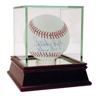 """Sparky Lyle MLB Baseball w/ """"Bronx Zoo"""" Insc. (MLB Auth)"""
