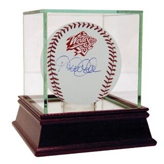 Derek Jeter Signed 1998 World Series Logo Baseball (MLB Auth)