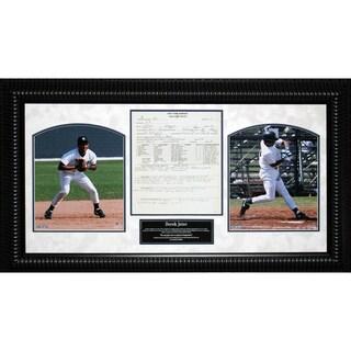 Derek Jeter Scouting Report 14x26 Framed Collage – 7310