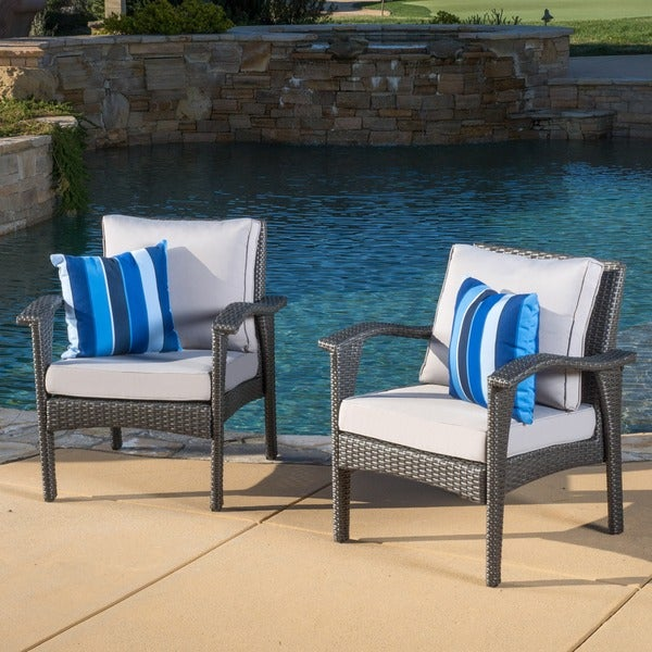 Honolulu Outdoor Wicker Club Chair with Cushion Set of 2  : Christopher Knight Home Honolulu Outdoor Wicker Club Chair with Cushion Set of 2 b7f614aa 257d 44f0 a611 895a8478498e600 from www.overstock.com size 600 x 600 jpeg 89kB