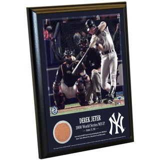 Derek Jeter Moments: World Series MVP 8x10 Dirt Plaque