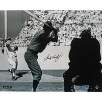Sandy Koufax WS Pitching B&W 16x20 Photo LE 32 (UDA Auth) (MLB Auth)