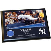 Derek Jeter Moments: The Dive 8x10 Wall Panel Plaque