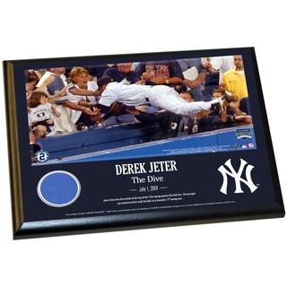 Derek Jeter Moments: The Dive 8x10 Wall Panel Plaque