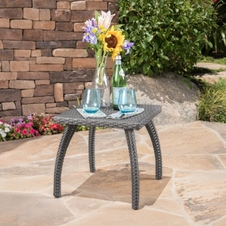 Christopher Knight Home Honolulu Outdoor Wicker Accent Table