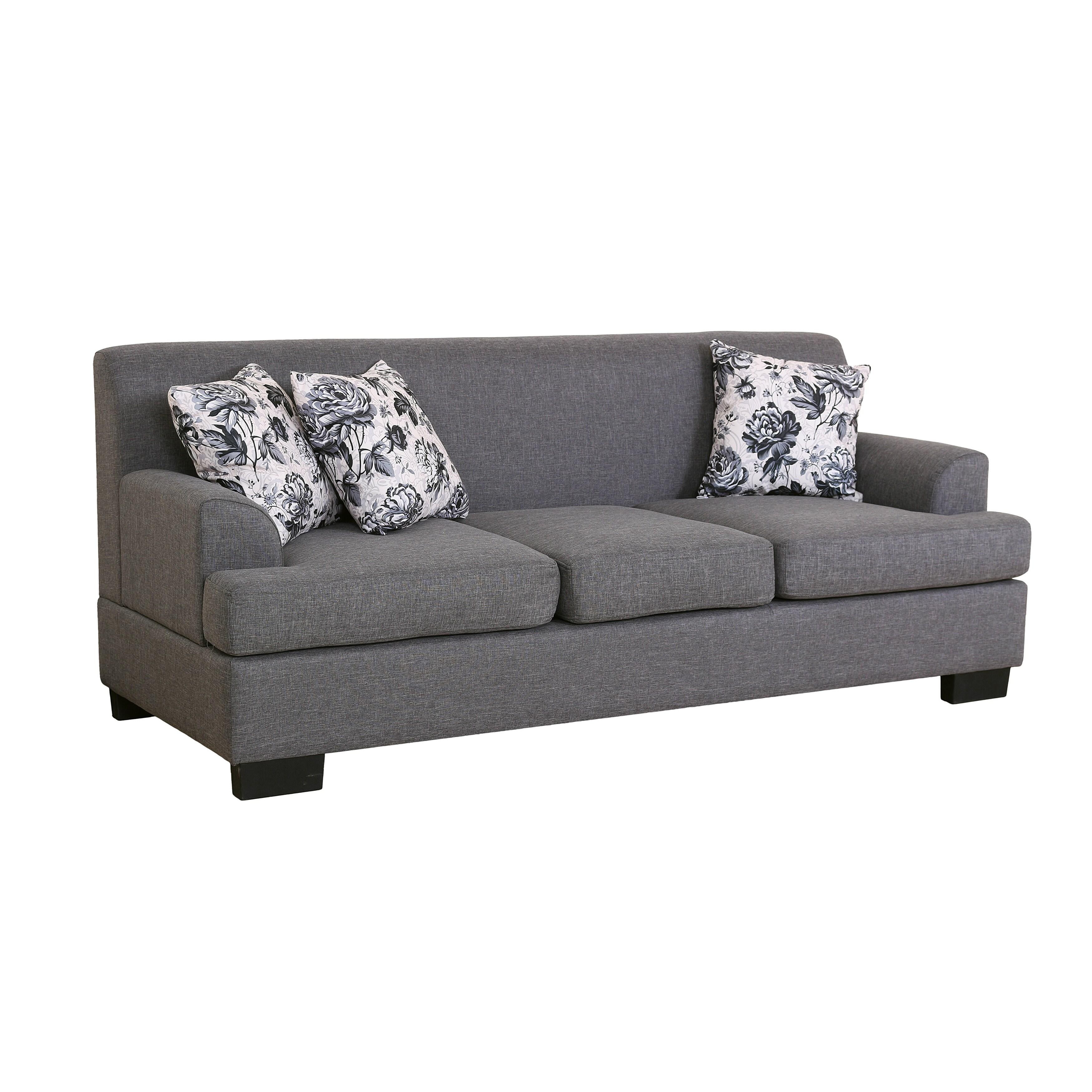 Excellent Allen Modern Fabric 2 Piece Sofa And Loveseat Set Andrewgaddart Wooden Chair Designs For Living Room Andrewgaddartcom