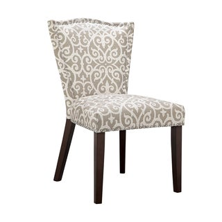 Madison Park Everitt Taupe Dining Chair (Set of 2)