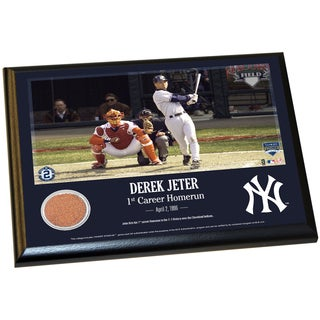 Derek Jeter Moments: 1st Career Homerun 8x10 Dirt Plaque