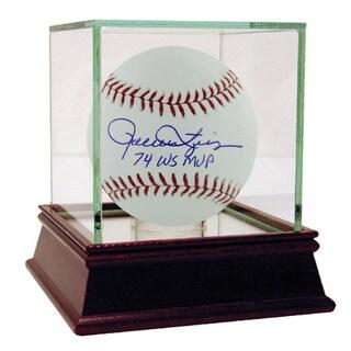 "Rollie Fingers MLB Baseball w/ ""74 WS MVP"" Insc. (MLB Auth)"