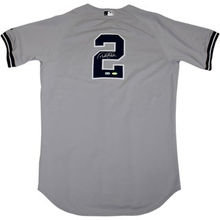 Derek Jeter Authentic Yankees Road Jersey (Signed on Back) (MLB Auth)