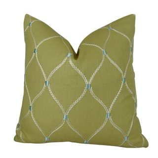Plutus Dewdrop Handmade Double-sided Throw Pillow