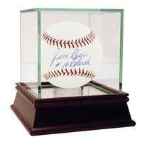 "Jim Rice Signed MLB Baseball w/ ""#14 Retired"" insc"