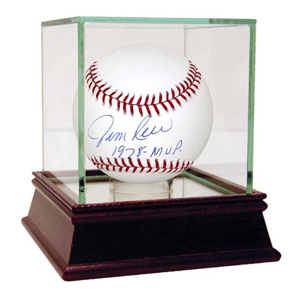 "Jim Rice Signed MLB Baseball w/ "" 1978 MVP ""Insc"