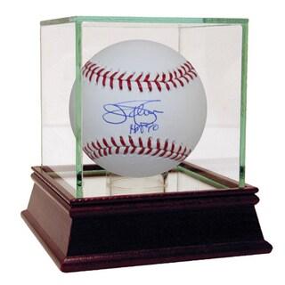 """Jim Palmer Signed MLB Baseball w/ """"HOF"""" Insc."""