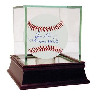"Jim Gosger Signed MLB Baseball w/ ""69 Amazing Mets"" insc"
