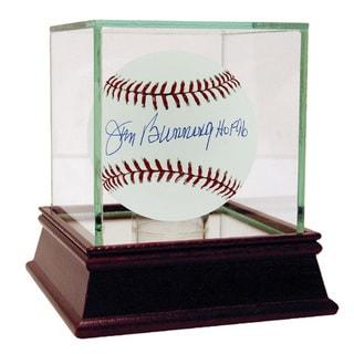 """Jim Bunning MLB Baseball w/"""" HOF 96"""" Insc (MLB Auth)"""