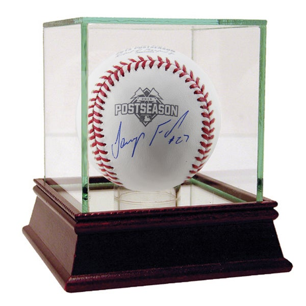 Jeurys Familia Signed MLB Official 2015 Postseason Logo Baseball