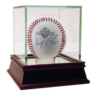 Jeurys Familia Signed MLB Official 2015 Postseason Logo Baseball